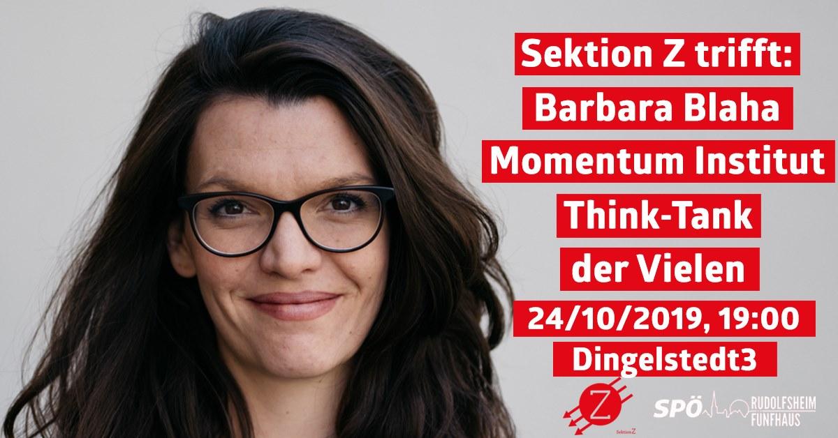 SektionZ trifft Barbara Blaha